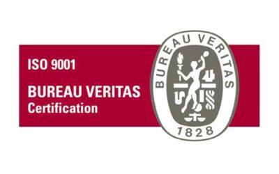 Sense Barreres iptiene la certificación SO 9001:2015