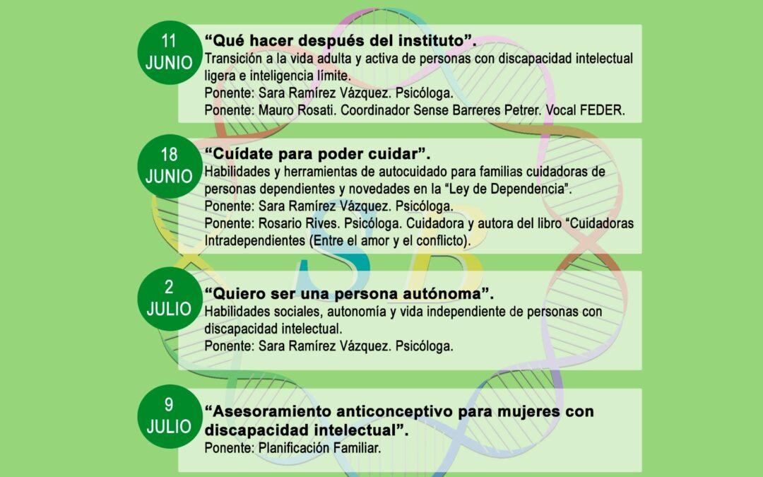PROGRAMA: OBJETIVO BIENESTAR FAMILIAS CICLO DE CHARLAS-COLOQUIO